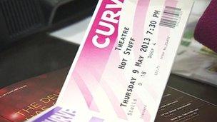 Curve ticket