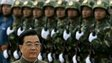 Outgoing Chinese President Hu Jintao inspects troops of the People&#039;s Liberation Army stationed in Hong Kong, file pic from June 2007