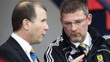 Stewart Regan and Craig Levein