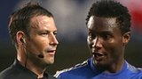 Mark Clattenburg and Jon Obi Mikel