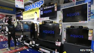 Sharp shares jump on Samsung reports