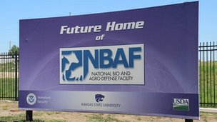 NBAF sign on site