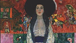 Klimt&#039;s Adele Bloch-Bauer II (detail)