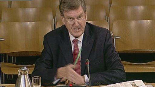 Scottish Water chairman Ronnie Mercer