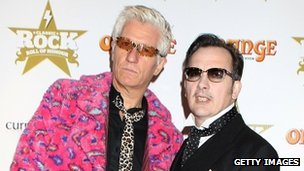Captain Sensible and David Vanian of The Damned