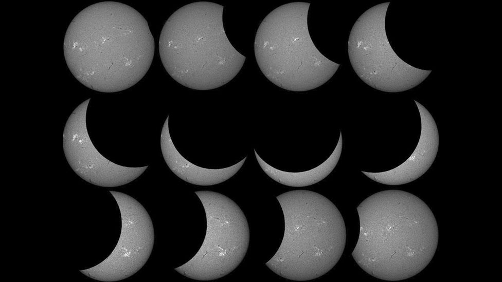 BBC News - Your solar eclipse pictures