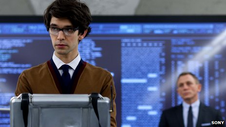 Ben Whishaw, as Q in James Bond film Skyfall