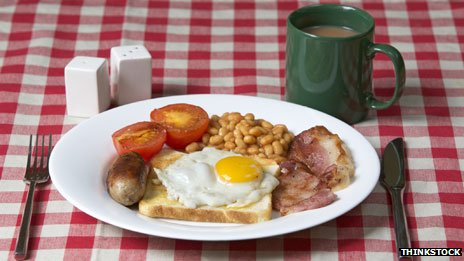 Fry-up breakfast