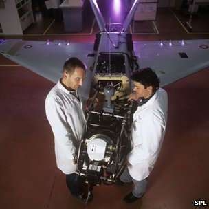 Unmanned aircraft research