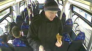 James Allen in Scarborough CCTV image