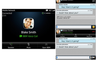 BBM Voice screenshot