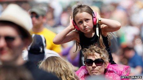 kid at festival
