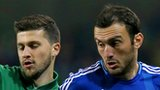 Shane Long and Vasilis Torosidis