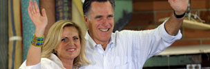 Mitt and Ann Romney (Getty)