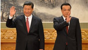 Xi Jinping and Li Leqiang