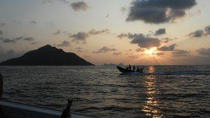 One of the Senkaku/Diaoyu islands