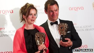 Emily Watson and Dominic West