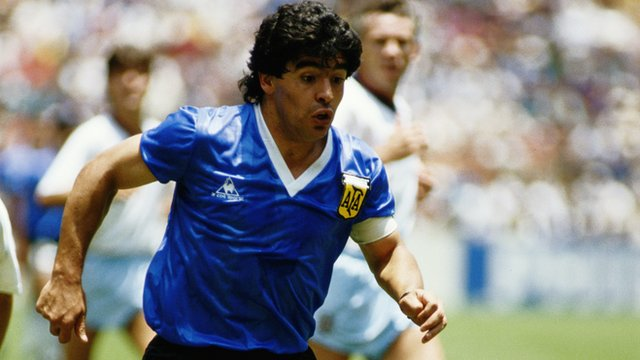 Argentina's Maradona