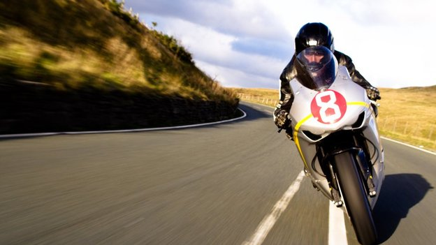 Guy Martin on Bike