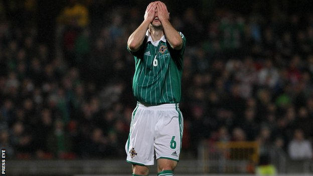 Chris Baird of Northern Ireland