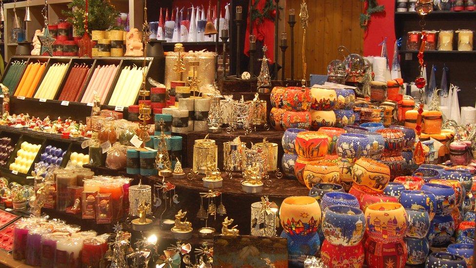 BBC News - In pictures: Birmingham's Frankfurt Christmas Market