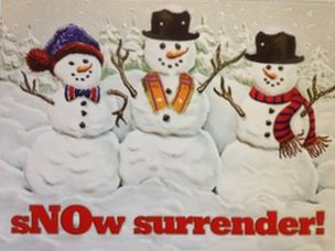 sNow surrender!