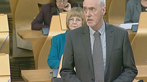Labour MSP Hugh Henry
