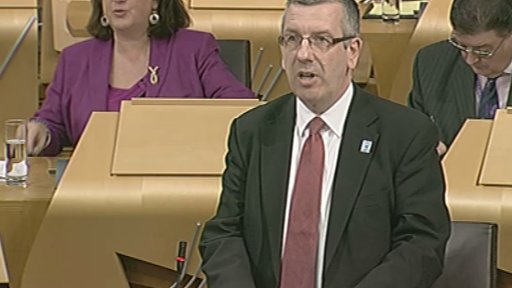 SPCB member David Stewart MSP answered questions about IT