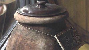 Terracotta amphorae