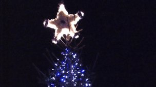 Thatcham Christmas lights