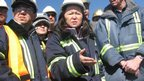 Kyrgyz mine commission members recently visited the site