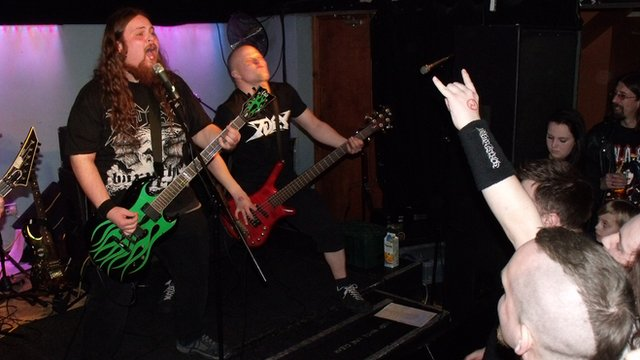 Fury at the Marr's Bar in Worcester