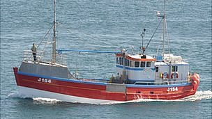 Jersey fishing boat