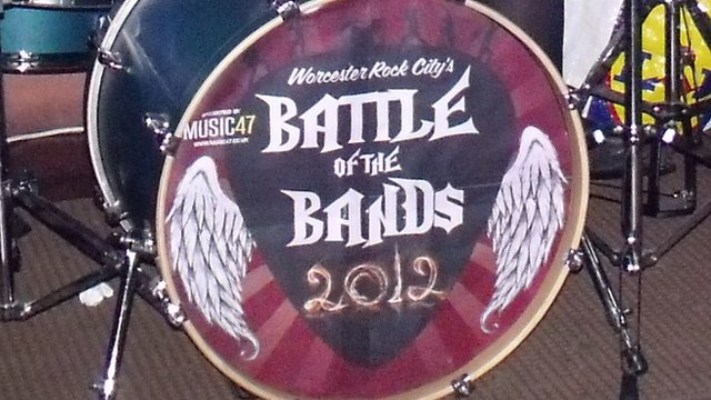Worcester Rock City's Battle Of The Bands 2012