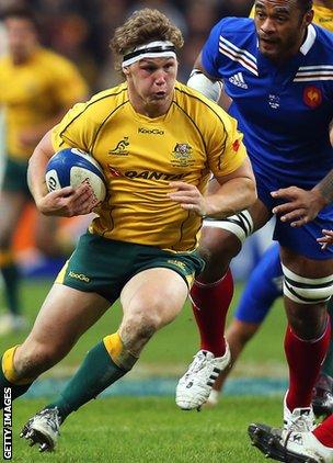 Australia flanker Michael Hooper
