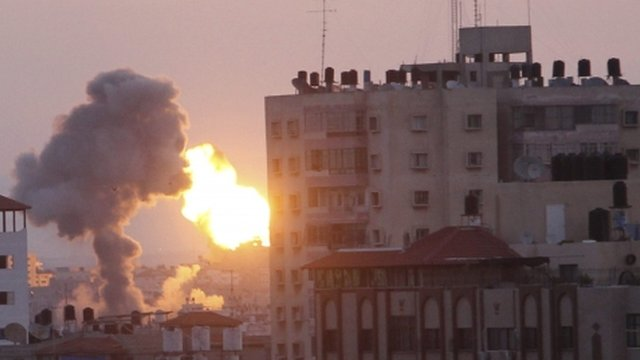 Explosion in Gaza