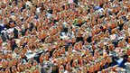South Korean volunteers make 140 tons of kimchi