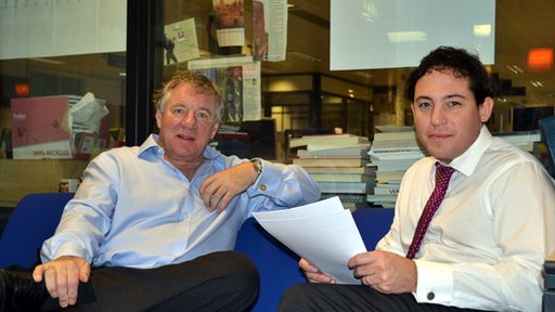 AAM's Martin Gilbert and the Today programme's Simon Jack