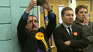 Lib Dem activists in Corby