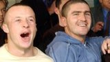 Luke Rodgers and Ryan Lowe in their Shrewsbury days in 2003, after being paired with Chelsea in the FA Cup