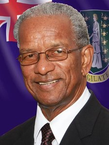 British Virgin Islands Premier Orlando Smith