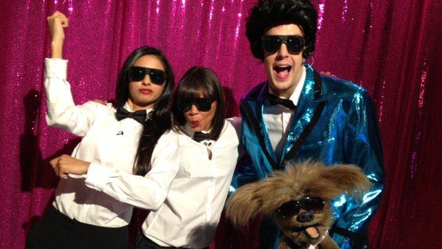 Newsround presenters do 'Gangnam Style'