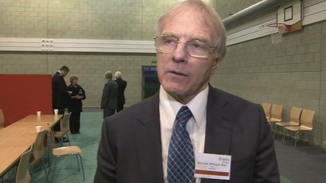 Ron Ball, Warwickshire's first police and crime commissioner (PCC)