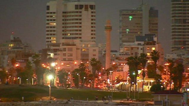 Seafront area of Tel Aviv