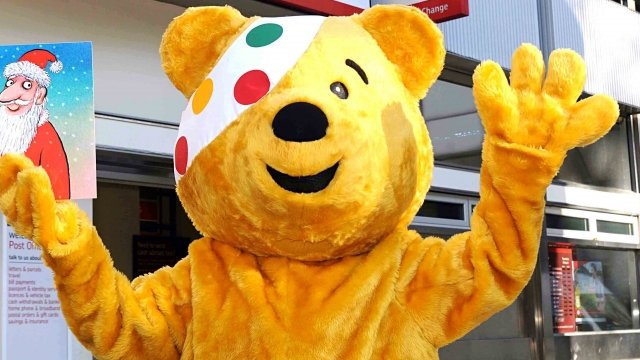 Pudsey bear