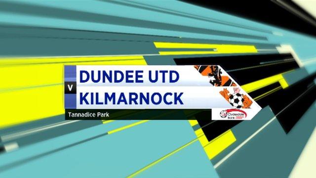 Highlights - Dundee Utd 3-3 Kilmarnock