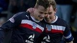 Dundee continued their good form with a win over Hibs