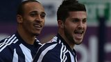 Peter Odemwingie (left) and Shane Long
