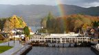 Rainbow in Fort Augustus