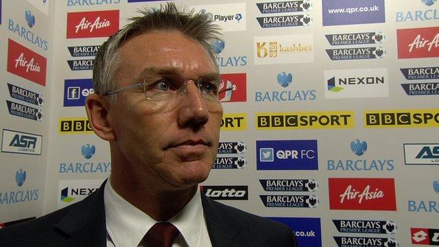 Southampton manager Nigel Adkins